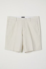 Slim Fit City Shorts