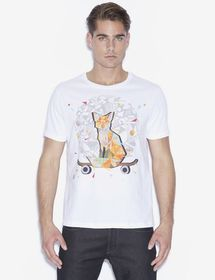 MEN'S STREET ART BY TIM MARSH CREWNECK TEE