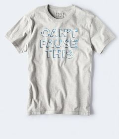 Free State Can't Pause This Graphic Tee