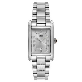 Oris Oris Rectangular 01561769240610781820 Women's