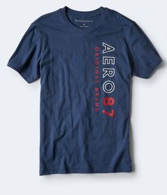 Aero 87 Vertical Logo Graphic Tee