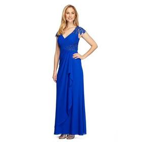 Alex Evenings - 132860 Embroidered Side Cascade Lo