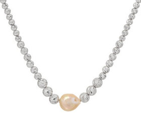 """""""As Is"""" Honora Ming Cultured Pearl & Sterling Bead"""
