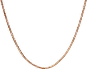 """""""As Is"""" Italian Silver 18"""" Snake Chain Necklace St"""