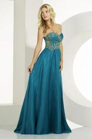 MNM Couture - 6463 Beaded Sweetheart A-line Dress