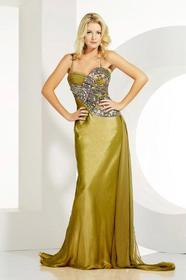 MNM Couture - 6477 Beaded Sweetheart Sheath Dress