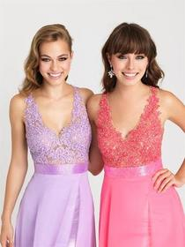Madison James - 16-413 Dress in Lilac
