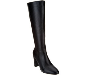 """""""As Is"""" Marc Fisher Leather Tall Shaft Boots-Zimra"""