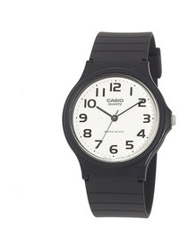 Casio Casio Men's Resin Strap Analog Watch, Black