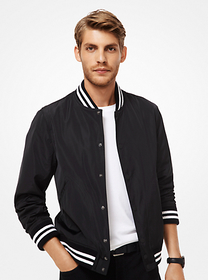 michael kors mens Varsity Jacket