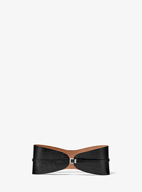 michael kors collection Crocodile-Embossed Leather