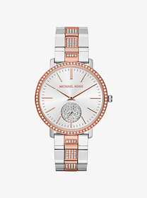 michael kors Jaryn Pavé Two-Tone Watch