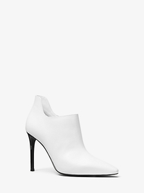 michael michael kors Corrine Leather Bootie