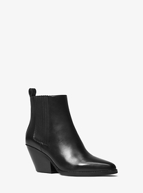 michael michael kors Sinclair Leather Ankle Boot