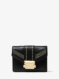 michael michael kors Whitney Small Studded Leather