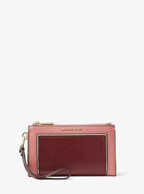michael michael kors Adele Two-Tone Leather Smartp
