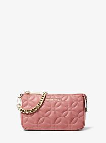 michael michael kors Medium Floral Quilted Leather
