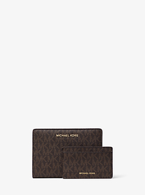 michael michael kors Medium Logo Slim Wallet