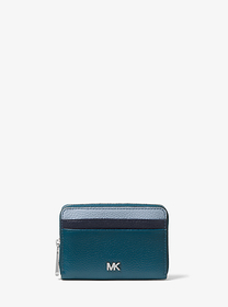 michael michael kors Small Color-Block Pebbled Lea