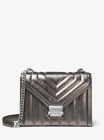 michael michael kors Whitney Large Quilted Leather