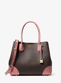 michael michael kors Mercer Gallery Medium Logo Sa