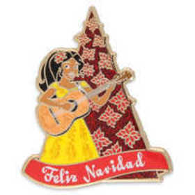 Elena of Avalor Holiday Pin