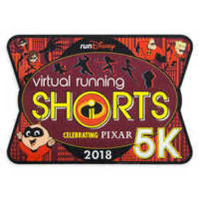 Incredibles 2 runDisney Virtual Running Shorts 5K