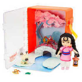Disney Animators' Collection Mulan Mini Doll Plays