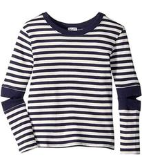 Splendid Littles Stripe Cut Out Top (Big Kids)