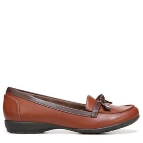 Natural Soul Women's Gracee Medium/Wide Loafer Sho