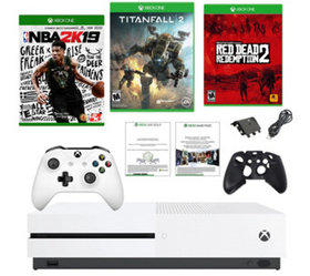 Xbox One S 1TB w/ Red Dead Redemption 2, NBA 2K19,