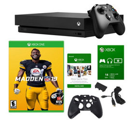 Xbox One X 1TB Console with Madden NFL 19 & Access