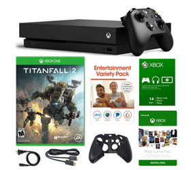 Xbox One X 1TB Console with Titanfall 2 and Vouche