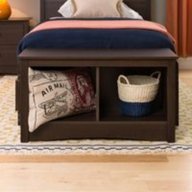Prepac Twin Cubby Entryway Storage Bench, Multiple