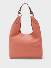 WES PEBBLED LEATHER HOBO