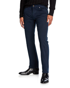 TOM FORD Men's Straight-Fit Button-Fly Jeans