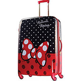 """Disney Minnie Mouse Hardside Spinner 28"""""""