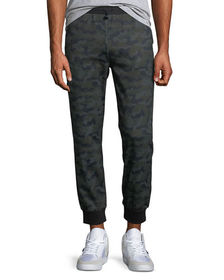 Karl Lagerfeld Paris Men's Camo Jogger Pants