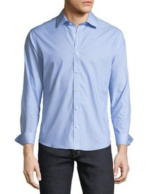 Neiman Marcus Slim-Fit Non-Iron Weart-It-Out Birds