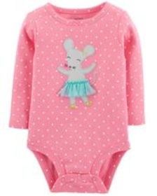 Baby GirlBallerina Mouse Collectible Bodysuit