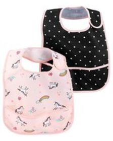Baby Girl2-Pack Feeding Bibs