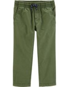 Toddler Boy Lined Pull-On Pants