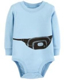 Baby Boy Fanny Pack Collectible Bodysuit