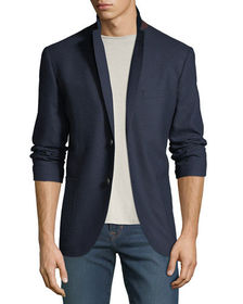 1 Like No Other Men's Edgar Geo Weave Sport Coat