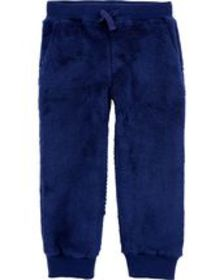 Baby Boy Pull-On Fuzzy Joggers