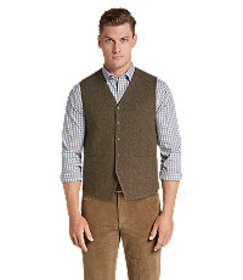 1905 Collection Tailored Fit Donegal Vest- Big & T