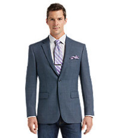 Traveler Traditional Fit 2-Button Wool Sportcoat -