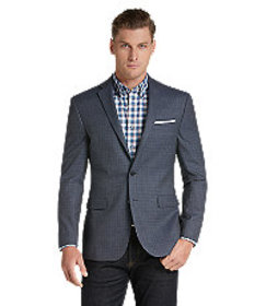 Traveler Collection Slim Fit Mixed Weave Sportcoat
