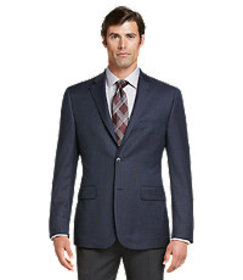 Traveler Collection Regal Fit Check Sportcoat CLEA