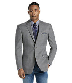 Traveler Collection Tailored Fit Houndstooth Sport